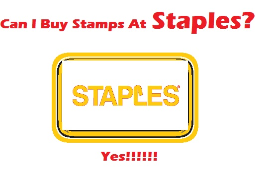 Can I Buy Stamps At Staples?